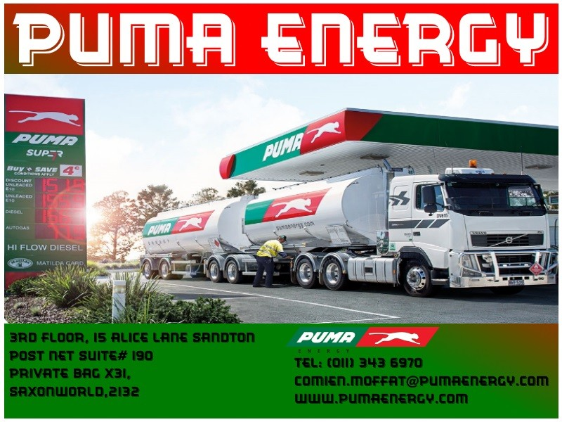 Contact Us Petroleum Coke Company Pty Ltd Mail: Puma Energy Services South Africa